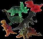 Dinosaur Tenths - 6 out of 10 dinosaurs - Bev Dunbar Maths Matters