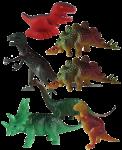 Dinosaur Tenths - 7 out of 10 dinosaurs - Bev Dunbar Maths Matters