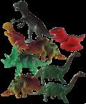 Dinosaur Tenths - 8 out of 10 dinosaurs - Bev Dunbar Maths Matters