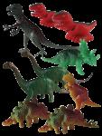 Dinosaur Tenths - 9 out of 10 dinosaurs - Bev Dunbar Maths Matters
