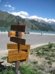 Direction Signs at a Chinese Tourist Spot Bev Dunbar Maths Matters