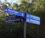 Distance Sign Hawks Nest Bev Dunbar Maths Matters
