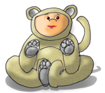 Dressup Bear - Yellow - John Duffield duffield-design