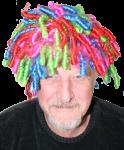 Duffy wears coloured curls copy