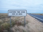 Eastern Time Zone leaving Wilcannia Area Bev Dunbar Maths Matters