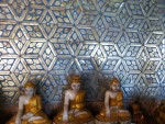 Exquisite Mosaic Mirror Wall Mandalay Myanmar Bev Dunbar Maths Matters copy