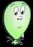 Face4 happyballoon green - John Duffield duffield-design