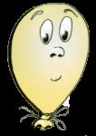Face4 happyballoon yellow - John Duffield duffield-design