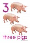 Farm Animals 3 Poster Bev Dunbar Maths Matters