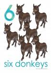 Farm Animals 6 Poster Bev Dunbar Maths Matters