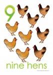 Farm Animals 9 Poster Bev Dunbar Maths Matters