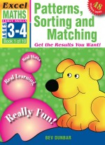 Patterns Sorting and Matching Excel Maths Early Skills Front Cover