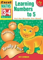 Learning Numbers to 5 Excel Maths Early Skills Front Cover