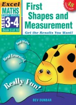 First Shapes and Measurement Excel Maths Early Skills Front Cover