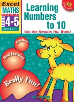Learning Numbers to 10 Excel Maths Early Skills Front Cover