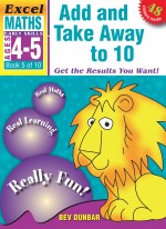 Add and Take Away to 10 Excel Maths Early Skills Front Cover