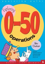 0-50 Operations Exploring Maths front Cover
