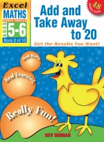 Add and Take Away to 20 Excel Maths Eearly Skills Front Cover