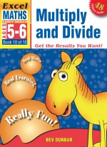 Multiply and Divide Excel Maths Eearly Skills Front Cover