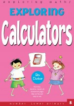Calculators Exploring Maths Front Cover