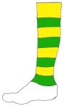 Football Sock Y&G - John Duffield duffield-design