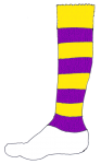 Football Sock Y&V - John Duffield duffield-design