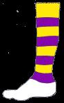 Football Sock Y&V - John Duffield duffield-design