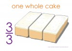 Fraction Cake Thirds Posters2
