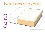 Fraction Cake Thirds Posters3