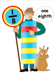 Fraction Character 6 - One Eighth - John Duffield duffield-design