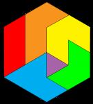 Fractured Hexagon - John Duffield duffield-design