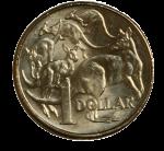 Front $1 coin Bev Dunbar Maths Matters