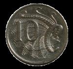 Front 10 cent coin Bev Dunbar Maths Matters