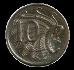 Front-10-cent-coin Bev Dunbar Maths Matters
