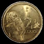 Front $2 coin Bev Dunbar Maths Matters