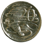 Front 20 cent coin Bev Dunbar Maths Matters