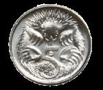 Front 5 cent coin Bev Dunbar Maths Matters