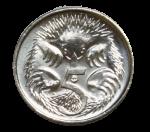 Front-5-cent-coin Bev Dunbar Maths Matters