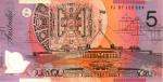 Front $5 note Bev Dunbar Maths Matters
