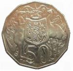 Front 50 cents coin Bev Dunbar Maths Matters