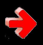 Geometry Symbols - Arrow Right - Red - John Duffield duffield-design