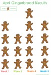 Gingerbread Biscuits many-to-one Picture Graph Y34 - Bev Dunbar Maths Matters