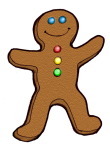 Gingerbreadman - John Duffield duffield-design