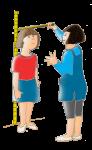 Girls Measure Height - John Duffield duffield-design
