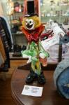 Glass clown $354 Bev Dunbar Maths Matters