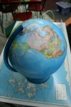 Globe of the World Bev Dunbar Maths Matters