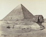 Great Pyramid and Sphinx 1858 Getty Images