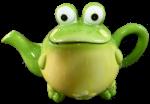 Green Frog Teapot $35 3D Sphere Money Bev Dunbar Maths Matters