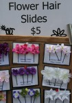 Hair Slides $5 Hobart Markets Bev Dunbar Maths Matters