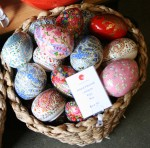 Hand painted Egg Box $14.95 Bev Dunbar Maths Matters